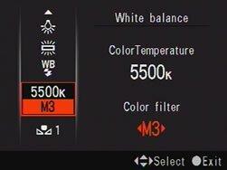Выставление баланса белого на камере