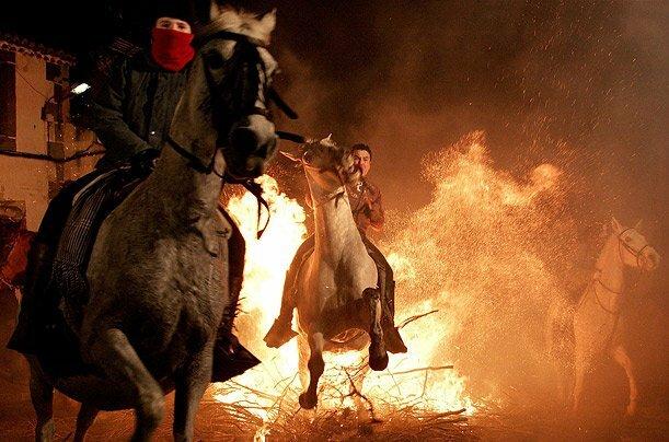Огненный праздник святого Антония